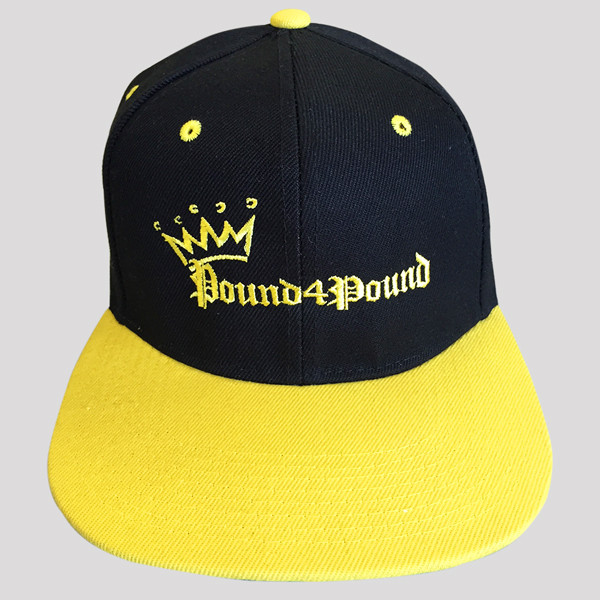 Black and Yellow Hat